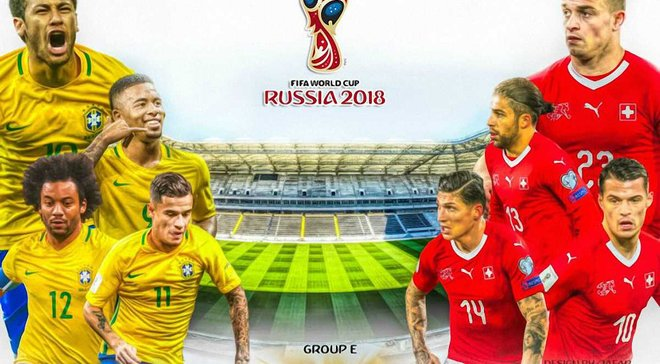 Бразилия – Швейцария: анонс матча ЧМ-2018