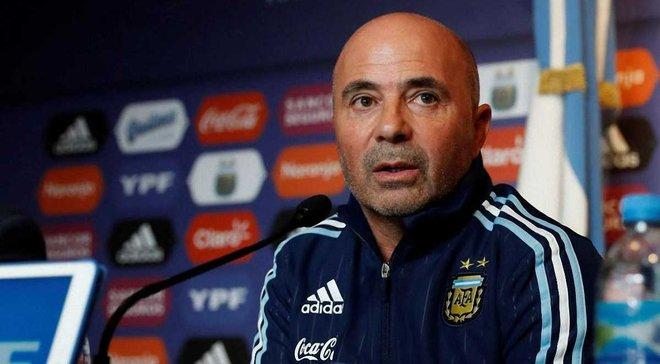 Аргентина – Ісландія: післяматчева прес-конференція Сампаолі