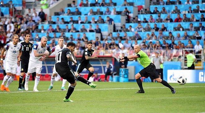 Аргентина – Ісландія: Мессі не забив 4 з 7 останніх пенальті в усіх турнірах