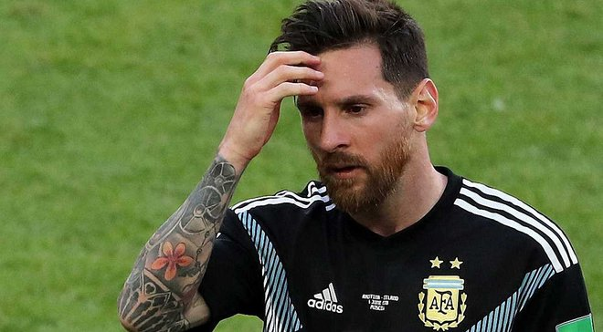 Месси чувствует себя виноватым из-за ничьей Аргентины против Исландии