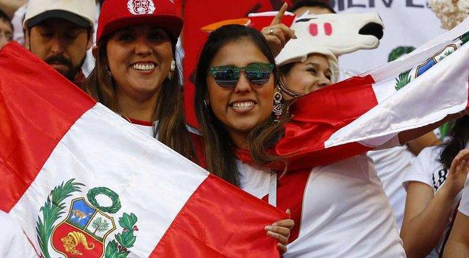 Перу – Дания: матч посетили 40 тысяч болельщиков