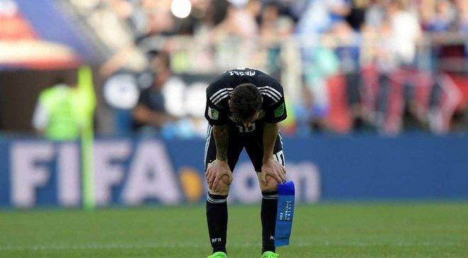 Как Месси отреагировал на ничью в матче Аргентина – Исландия – отчаяние и бессилие