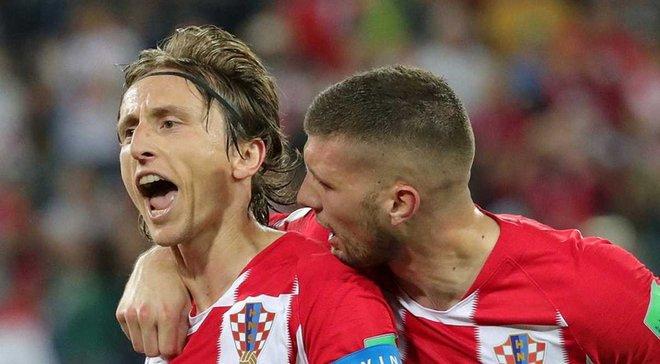 Хорватия – Нигерия: Модрич признан лучшим игроком матча