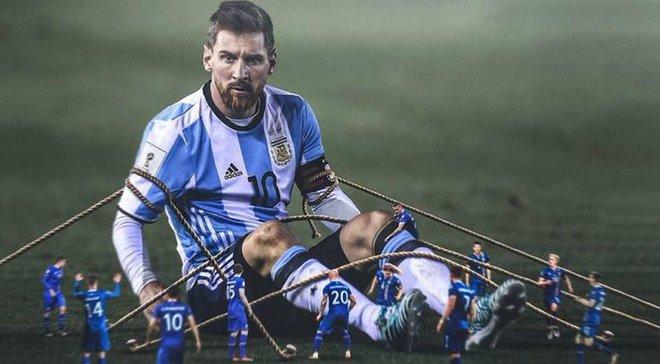 83% ігрового часу ходив пішки: Ісландія знешкодила Мессі, але Роналду після такого виграв Євро