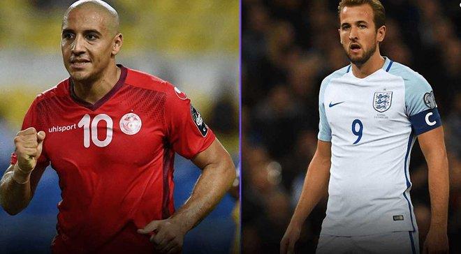 Тунис – Англия: анонс матча ЧМ-2018