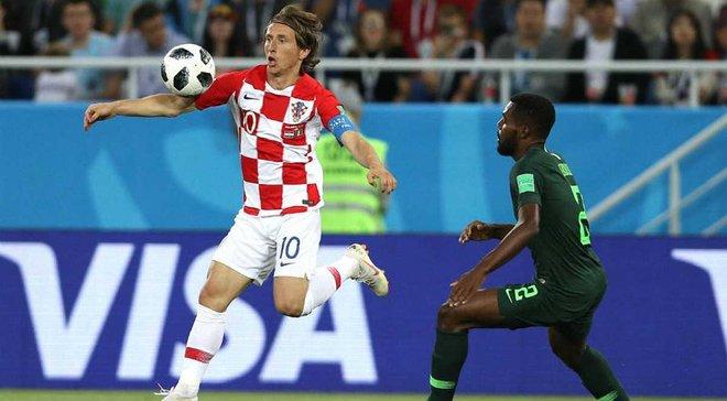 Модрич: Игра против Нигерии не была простой