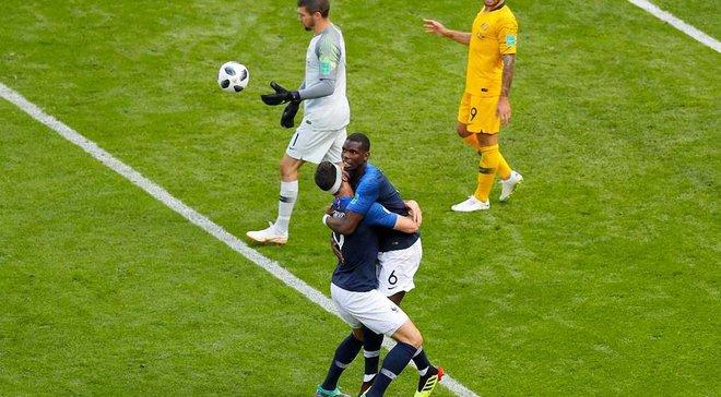 Франция – Австралия: ФИФА переписала гол Погба на австралийца Бехича