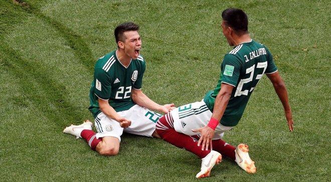 Німеччина – Мексика: У Мексиці був зафіксований землетрус після голу