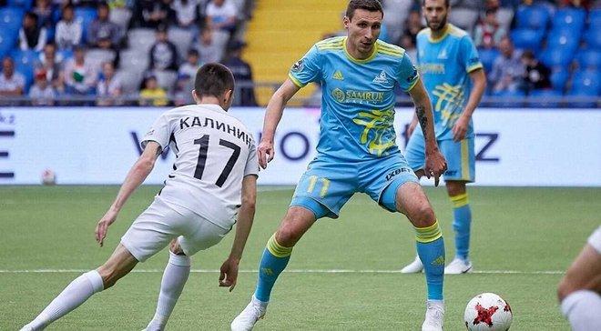 Григорчук дебютировал во главе Астаны с победы