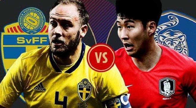 Швеция – Южная Корея: онлайн-трансляция матча ЧМ-2018 – как это было