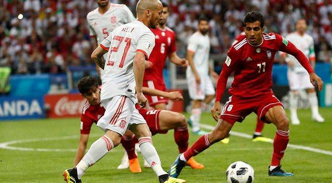 Иран – Испания – видео гола и обзор матча