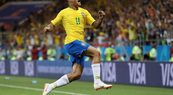 Коутінью: Збірна Бразилії хотіла виграти, було багато позитивних моментів