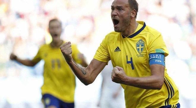 Швеция – Южная Корея: Гранквист признан лучшим игроком матча