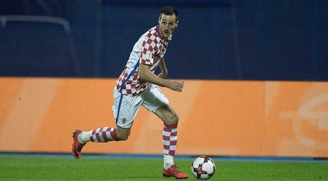 Калініч виключений зі складу збірної Хорватії і не зіграє на ЧС-2018
