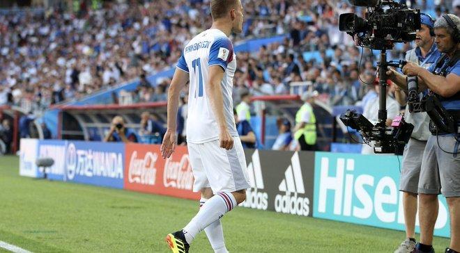 Фіннбогасон розповів, чим займалися 0,4% ісландців, які не дивились матч проти Аргентини
