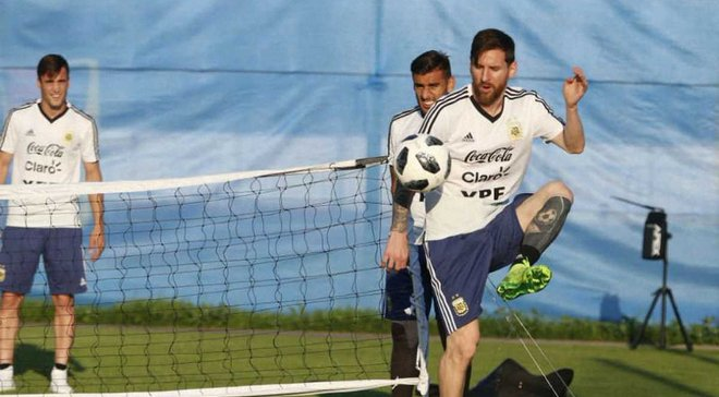 Аргентина – Хорватия: Месси, Дибала и Ди Мария пропустили часть тренировки