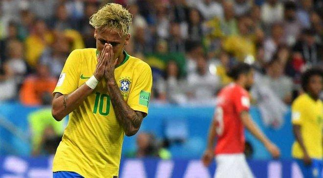 ЧМ-2018: Неймар пропустил тренировку сборной Бразилии