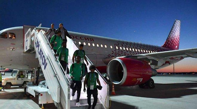 ЧМ-2018: самолет со сборной Саудовской Аравии загорелся во время полета в Ростов-на-Дону