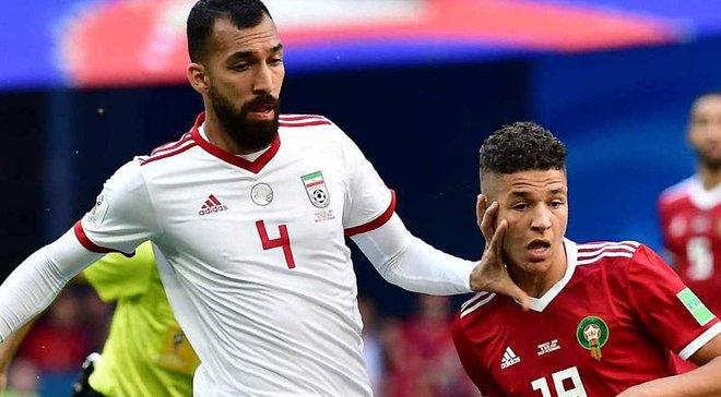 ЧС-2018: Збірна Ірану втратила захисника Чешмі