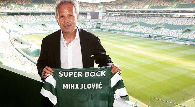 Міхайловіч офіційно очолив Спортінг