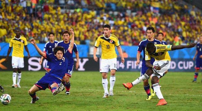 Колумбія – Японія: онлайн-трансляція матчу ЧС-2018 – як це було