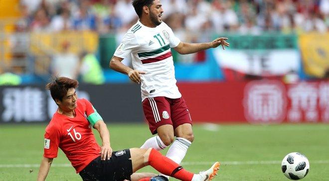 Южная Корея – Мексика – 1:2 – видео голов и обзор матча