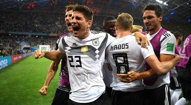 Германия – Швеция – 2:1 – видео голов и обзор матча