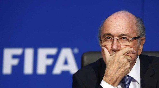 ЧС-2018: Блаттер відвідає два матчі турніру попри заборону ФІФА