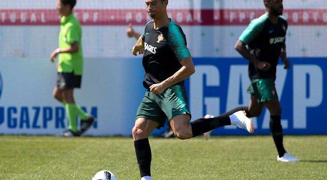 Роналду стал самым быстрым футболистом в мире