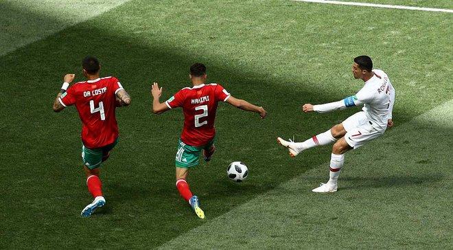 """ЧС-2018: Португалія – Марокко: """"відскок"""" португальців, посередня форма Кріштіану та жахлива гра на стандартах"""