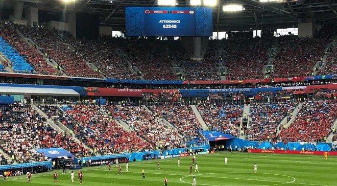 Россия – Египет: матч состоится под открытой крышей несмотря на дождь