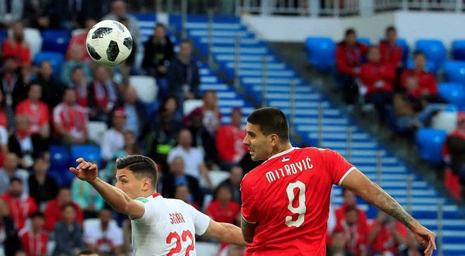Сербия – Швейцария: онлайн-трансляция матча ЧМ-2018 – как это было