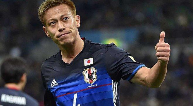 Хонда: Я дуже радий за Осако