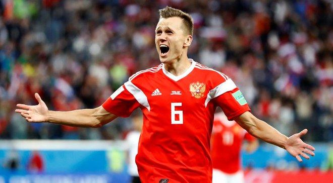 Росія – Єгипет: Черишев визнаний найкращим гравцем матчу