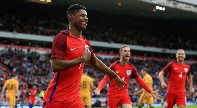 Решфорд: Настрій навколо збірної Англії спокійніший, ніж на Євро-2016
