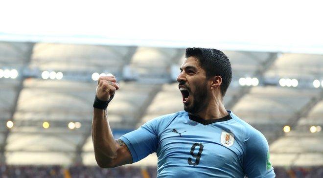 Уругвай – Саудівська Аравія: Суарес визнаний найкращим гравцем матчу