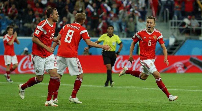 ЧС-2018: Росія вперше в історії вийшла у плей-офф