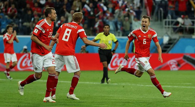 ЧМ-2018: Россия впервые в истории вышла в плей-офф