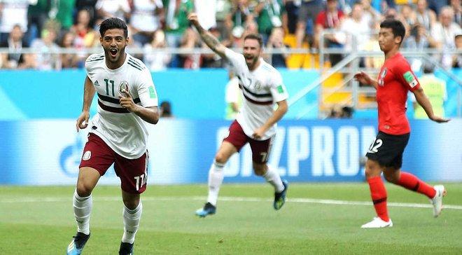 ЧС-2018 Південна Корея – Мексика: рівний матч, тактичні проблеми мексиканців, дитячі помилки та перфоменс голкіперів