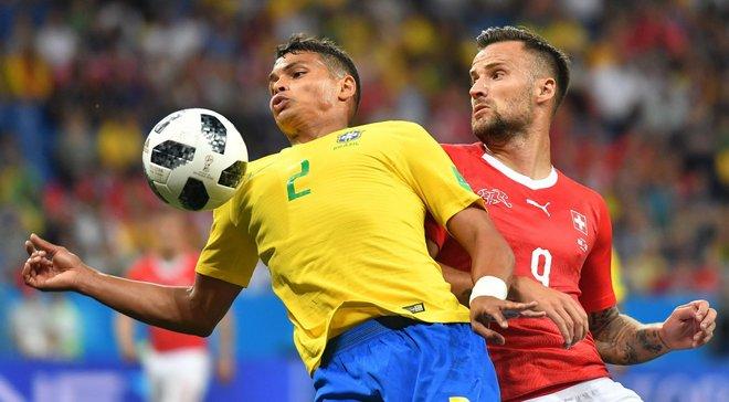 ЧС-2018: Тьягу Сілва буде капітаном Бразилії в матчі з Коста-Рікою