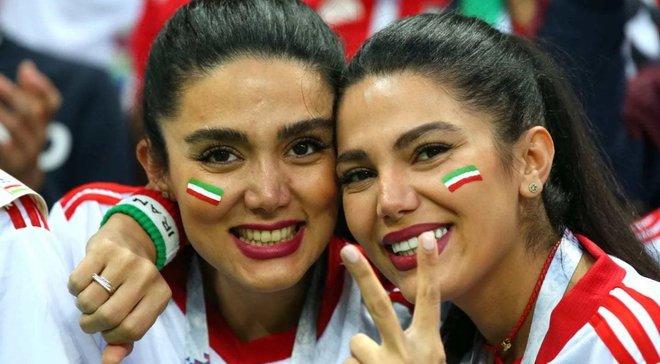 Іранські жінки вперше за 40 років потрапили на стадіон завдяки ЧС-2018