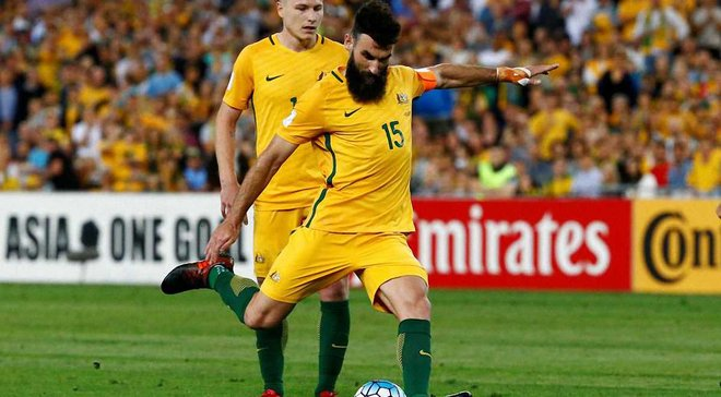 Данія – Австралія: австралійці не виграли жодного матчу, в якому Єдінак забивав пенальті