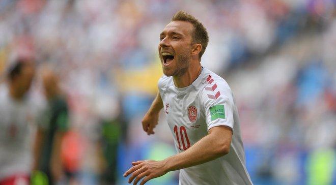 Дания – Австралия: Эриксен признан игроком матча