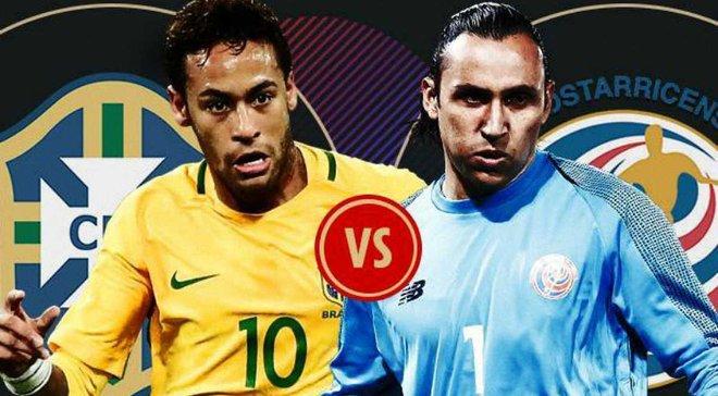 Бразилія – Коста-Ріка: онлайн-трансляція матчу ЧС-2018 – як це було