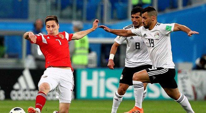 ЧМ-2018: Федерация футбола Египта хочет жаловаться на судейство в матче с Россией