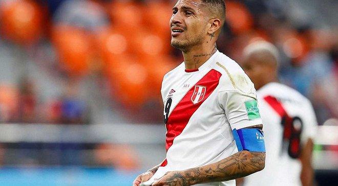 Герреро: Чекали більшого, дякую вболівальникам Перу за підтримку