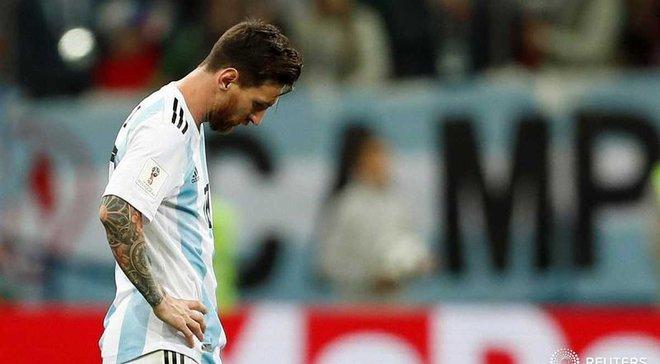 ЧМ-2018: Аргентина впервые с 1974 не победила в стартовых двух матчах