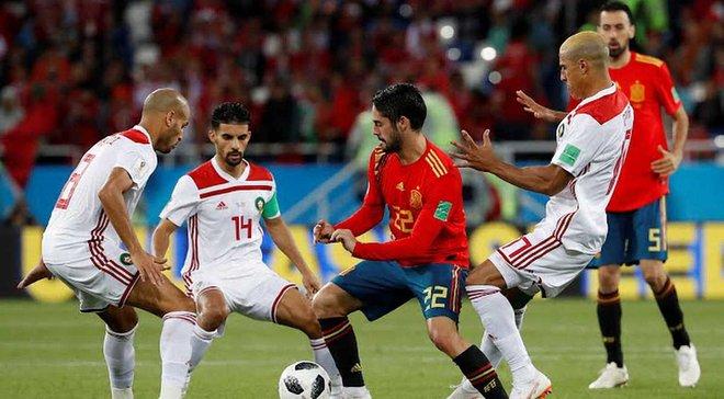 Испания – Марокко – 2:2 – видео голов и обзор матча