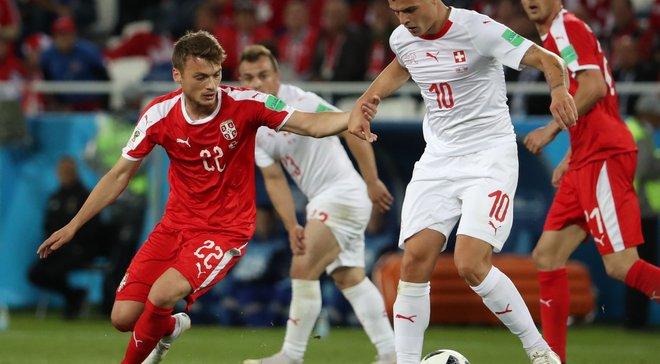 ЧМ-2018: Сербия подаст протест на судейство в матче со Швейцарией