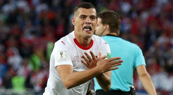 ЧС-2018: Джака заперечив політичний підтекст свого святкування в матчі проти Сербії
